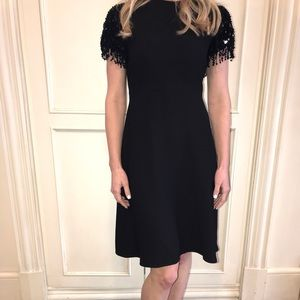 Kate Spade Black Sequin Party Dress